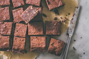 vegan chocolade brownies